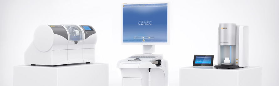 Restorations with Cerec