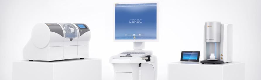 Restorations with Cerec